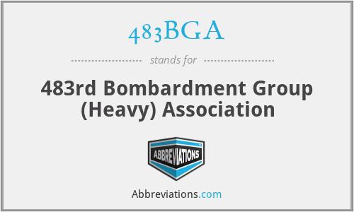 483BGA - 483rd Bombardment Group (Heavy) Association