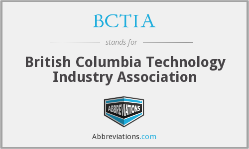 BCTIA - British Columbia Technology Industry Association