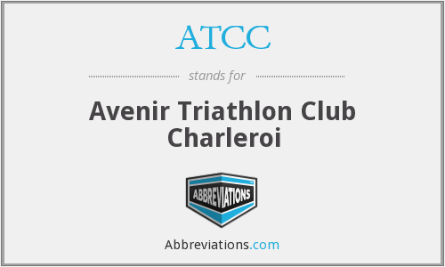 ATCC - Avenir Triathlon Club Charleroi