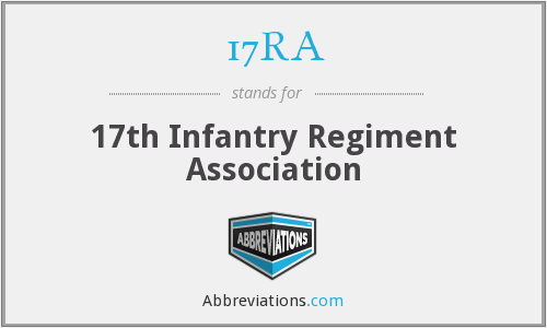17RA - 17th Infantry Regiment Association