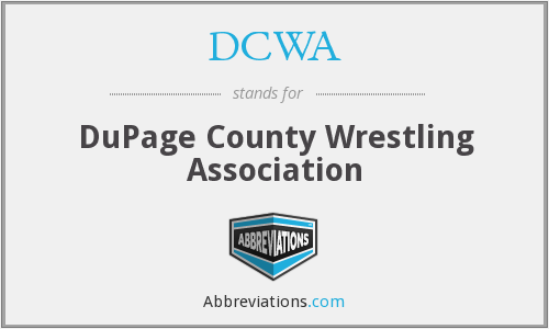 DCWA - DuPage County Wrestling Association