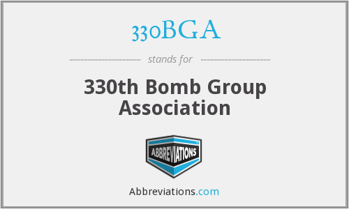 330BGA - 330th Bomb Group Association