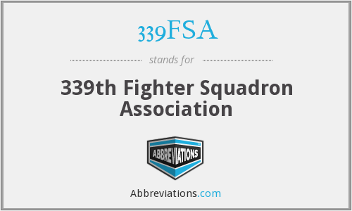 339FSA - 339th Fighter Squadron Association