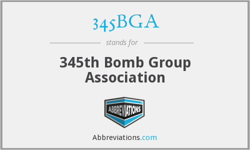 345BGA - 345th Bomb Group Association