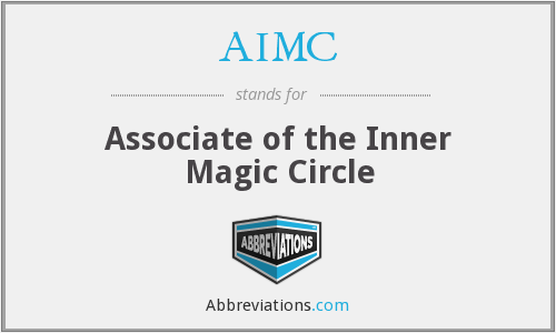 AIMC - Associate of the Inner Magic Circle