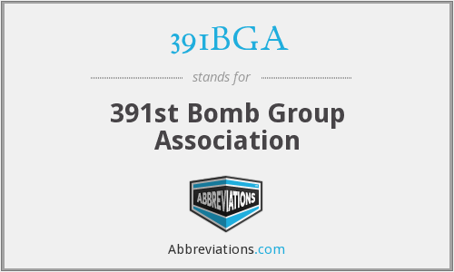 391BGA - 391st Bomb Group Association