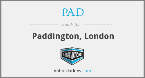 PAD - Paddington, London