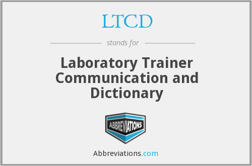 LTCD - Laboratory Trainer Communication and Dictionary