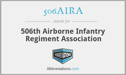 506AIRA - 506th Airborne Infantry Regiment Association