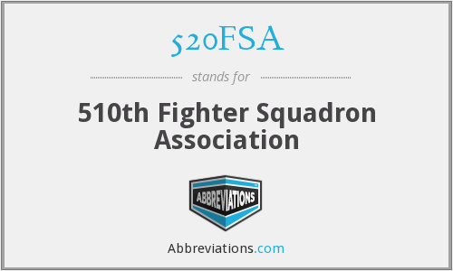 520FSA - 510th Fighter Squadron Association