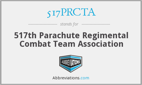 517PRCTA - 517th Parachute Regimental Combat Team Association