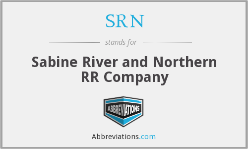 SRN - Sabine River and Northern RR Company