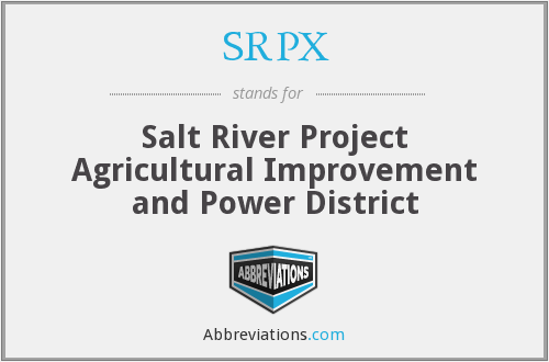 What does SRPX stand for?