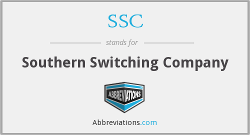 SSC - Southern Switching Company