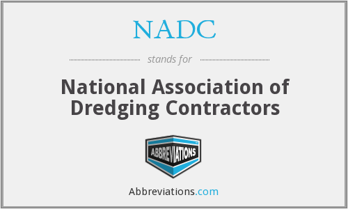 NADC - National Association of Dredging Contractors