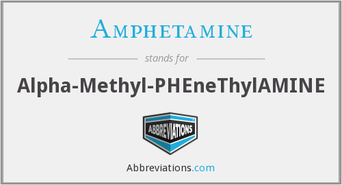 Amphetamine - Alpha-Methyl-PHEneThylAMINE