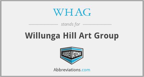WHAG - Willunga Hill Art Group