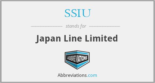 SSIU - Japan Line Limited