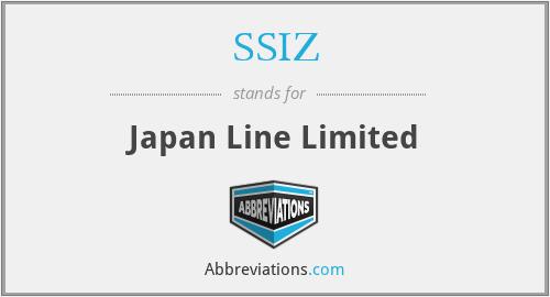 SSIZ - Japan Line Limited