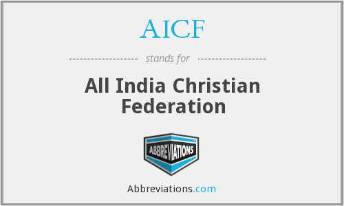 AICF - All India Christian Federation