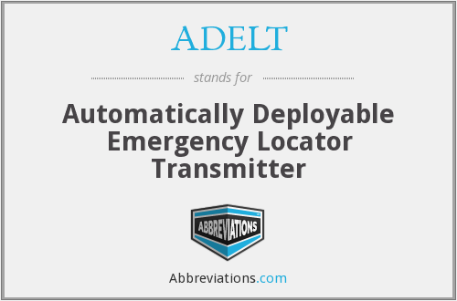 What does ADELT stand for?