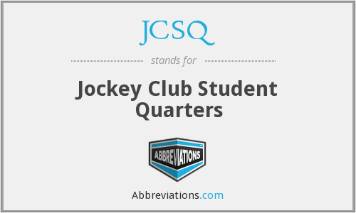 JCSQ - Jockey Club Student Quarters