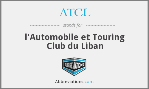 ATCL - l'Automobile et Touring Club du Liban