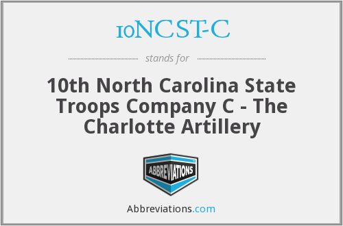 What does 10NCST-C stand for?