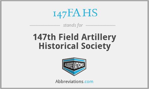 147FAHS - 147th Field Artillery Historical Society