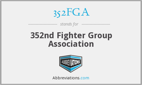 352FGA - 352nd Fighter Group Association