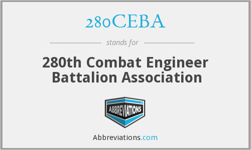 280CEBA - 280th Combat Engineer Battalion Association