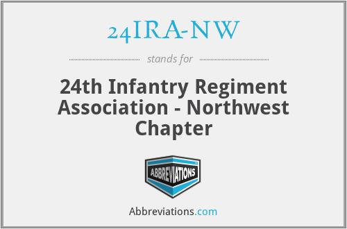 24IRA-NW - 24th Infantry Regiment Association - Northwest Chapter
