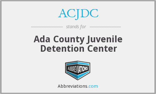 What does ACJDC stand for?