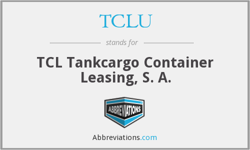 What does TCLU stand for?