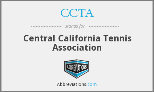 CCTA - Central California Tennis Association
