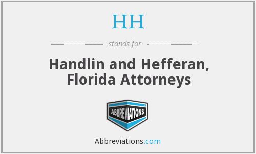 HH - Handlin and Hefferan, Florida Attorneys