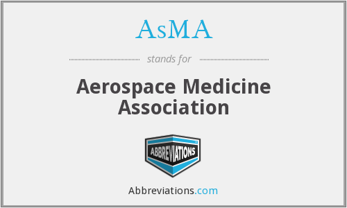 AsMA - Aerospace Medicine Association