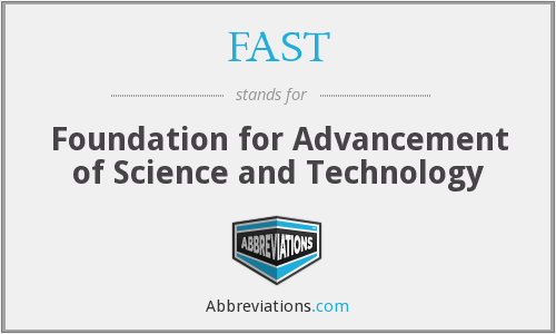advancement of technology and science and