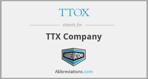 TTOX - TTX Company