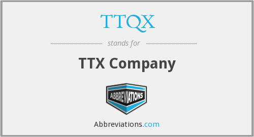 What does TTQX stand for?