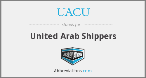 UACU - United Arab Shippers