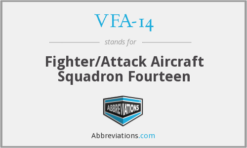 VFA-14 - Fighter/Attack Aircraft Squadron Fourteen