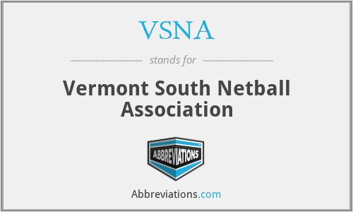 VSNA - Vermont South Netball Association