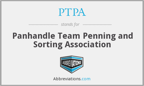 PTPA - Panhandle Team Penning and Sorting Association