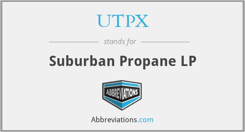 UTPX - Suburban Propane LP