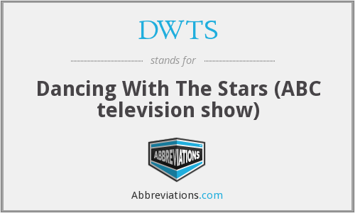 DWTS - Dancing With The Stars (ABC television show)