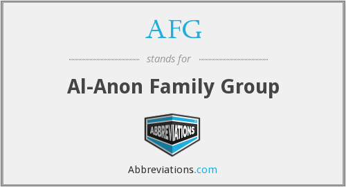 AFG - Al-Anon Family Group