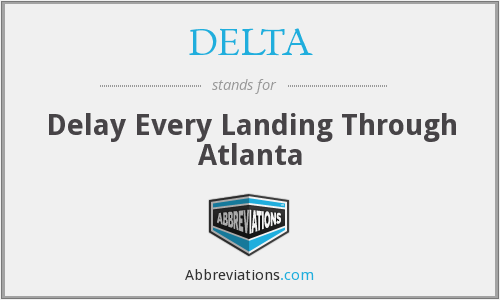 DELTA - Delay Every Landing Through Atlanta