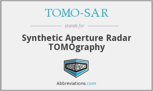 What does TOMO-SAR stand for?