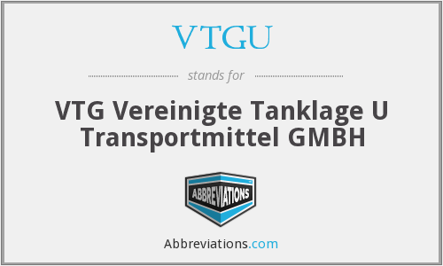 What does VTGU stand for?